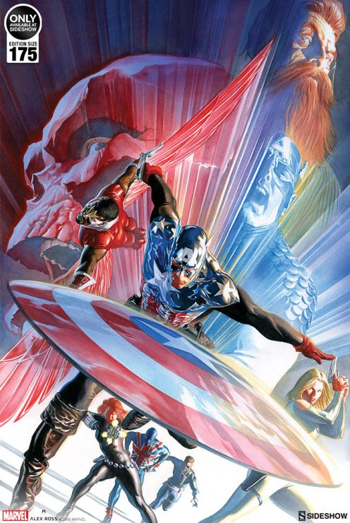Captain America Issue #600 Fine Art Lithograph