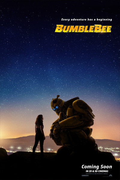 Bumbleebee Movie New Poster