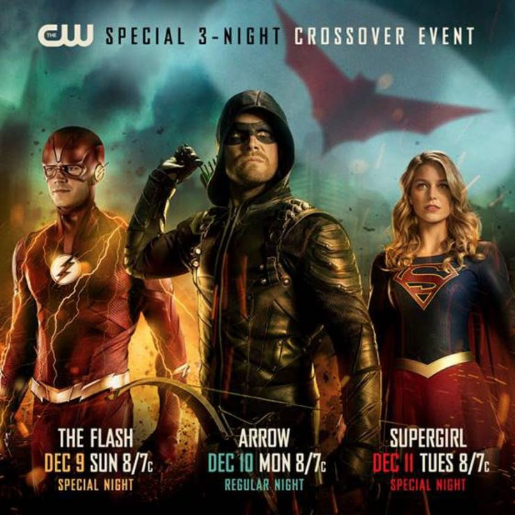 The CW Premieres Arrowverse Crossover Dates