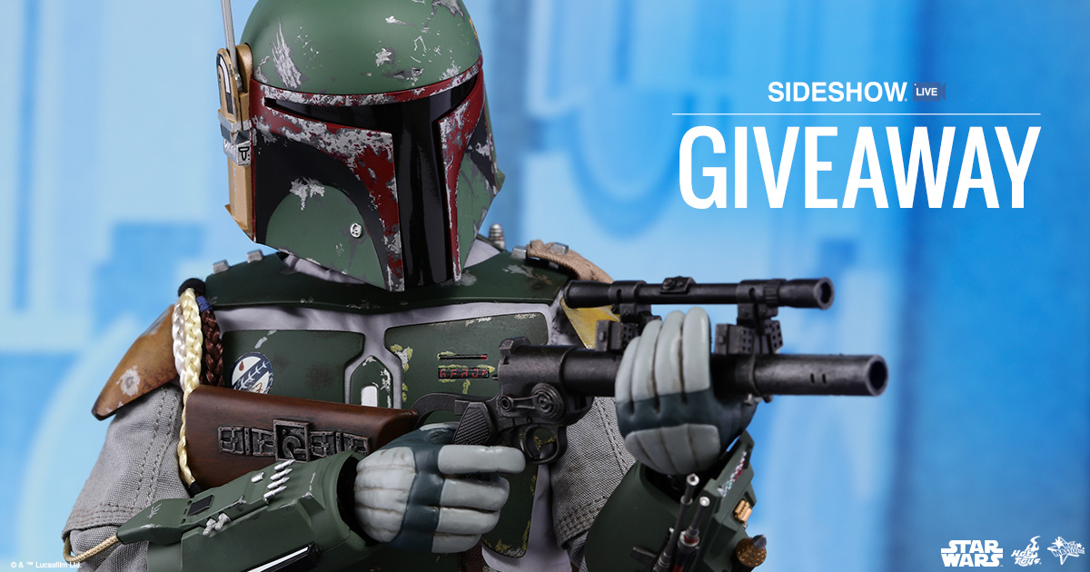Sideshow Live Boba Fett Deluxe Giveaway