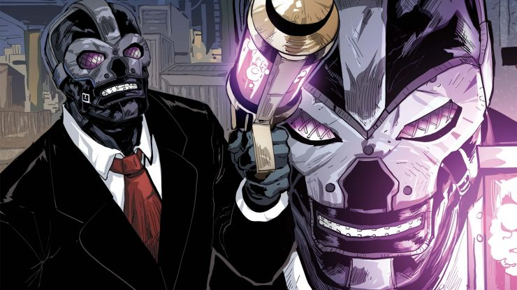 Black Mask May be Villain DC Birds of Prey Film