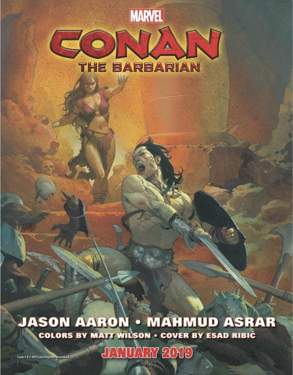 Marvel to Debut New Conan Books Beginning in 2019