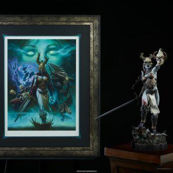 The Transcendence of Spirit Fine Art Print by Alex Horley