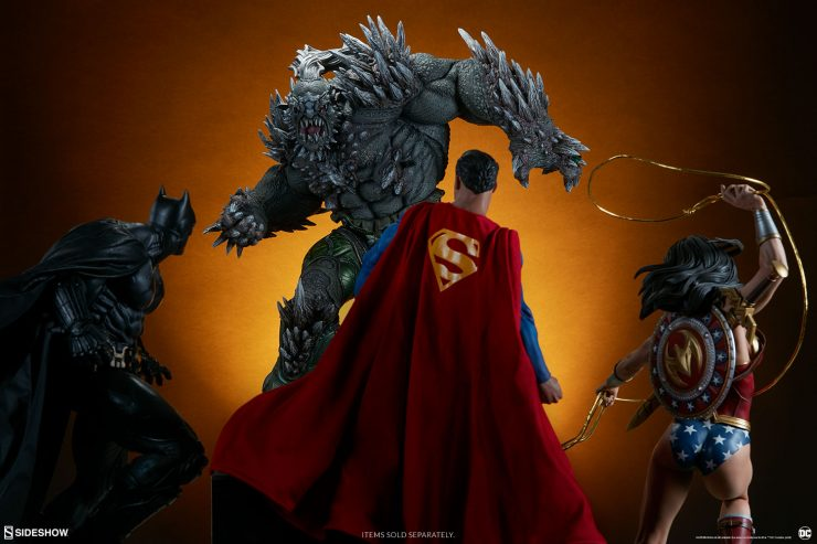 The Doomsday Maquette Brings a Reckoning to Your DC Collectibles