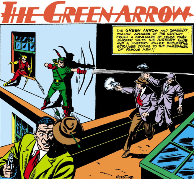 A History of the Green Arrow | Sideshow Collectibles