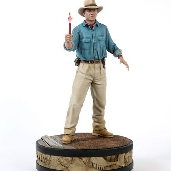 Dr. Alan Grant Statue