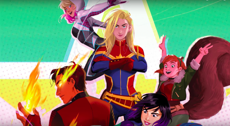 Marvel Rising: Secret Warriors Premiere Announced