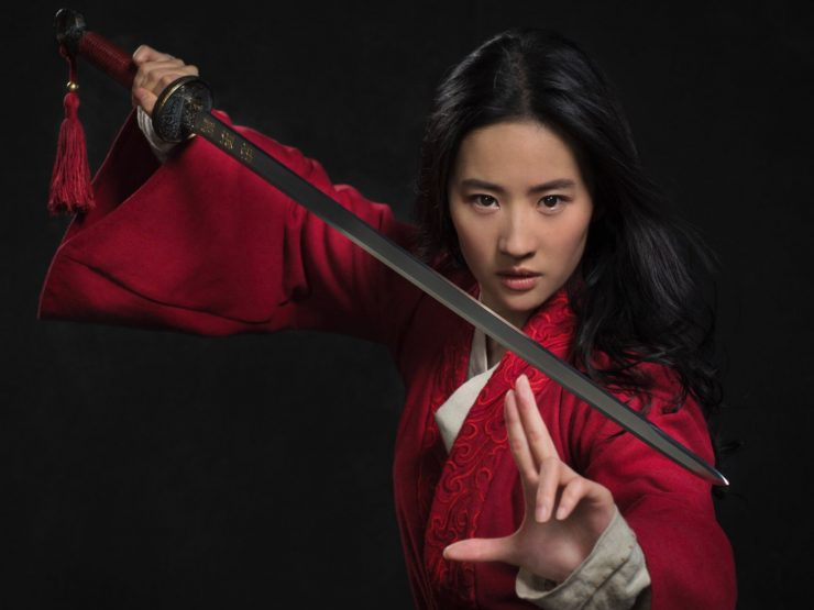 Liu Yifei as Mulan in New Live-Action Photo