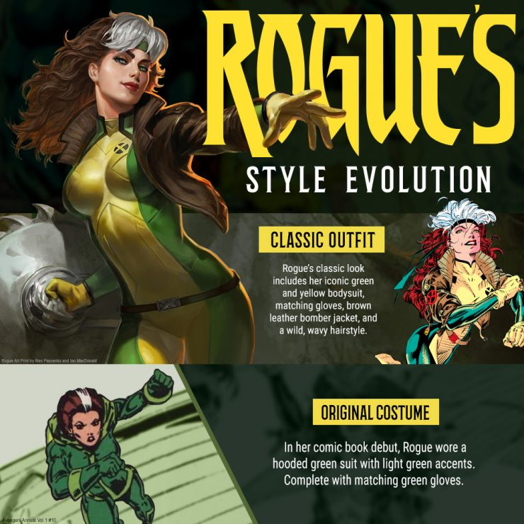 Rogue's Style Evolution