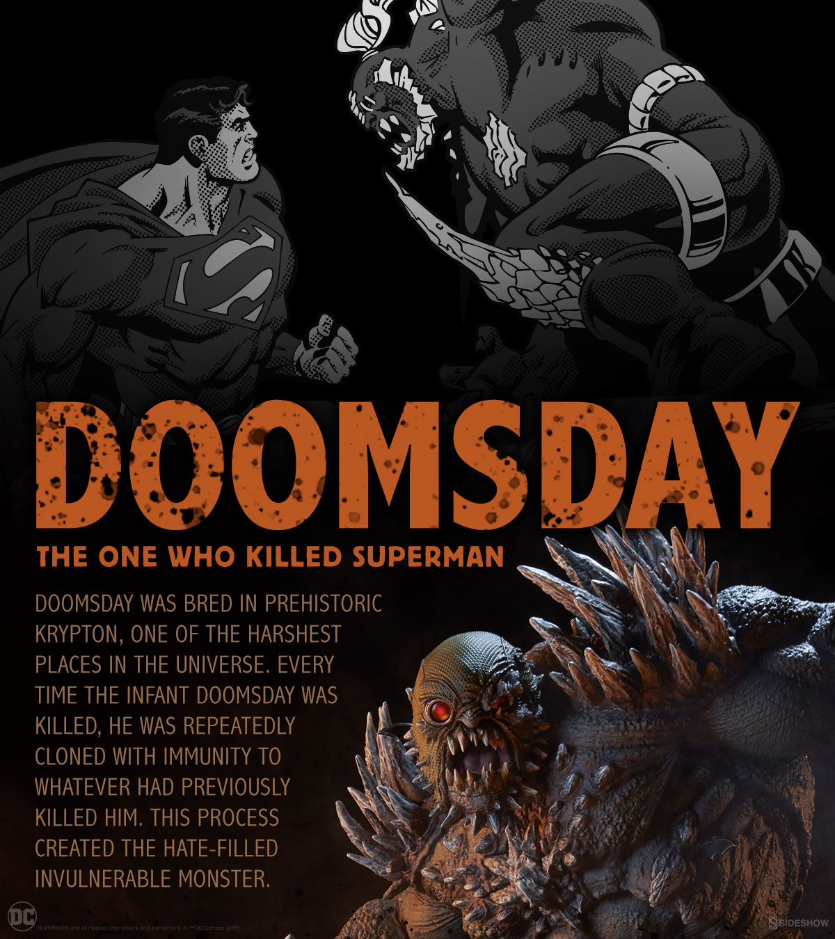 What Is Doomsday And Where Did He Come From Sideshow Collectibles