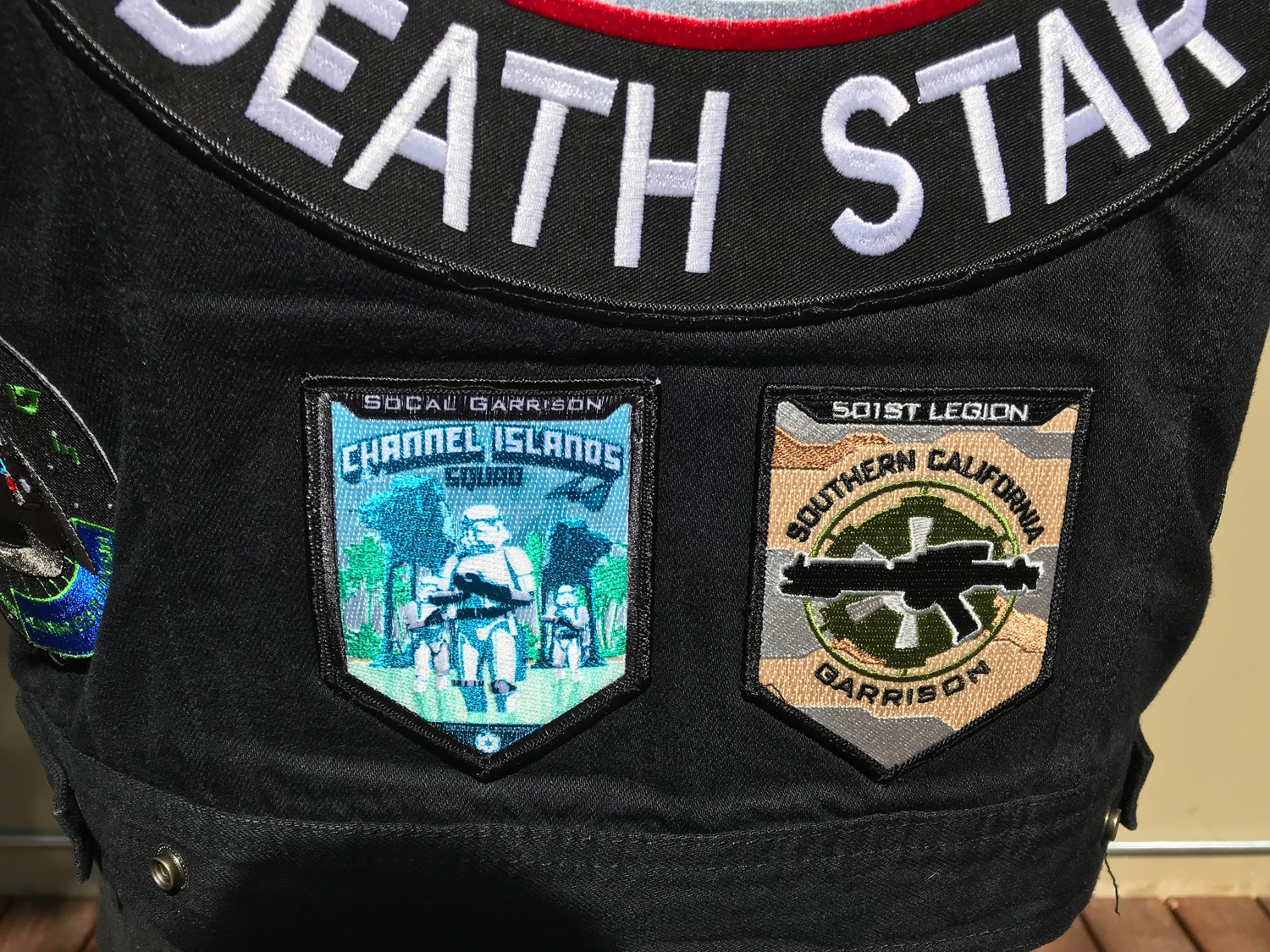 Sideshow's Week in Geek: Challenger Shows off His 501st Vest