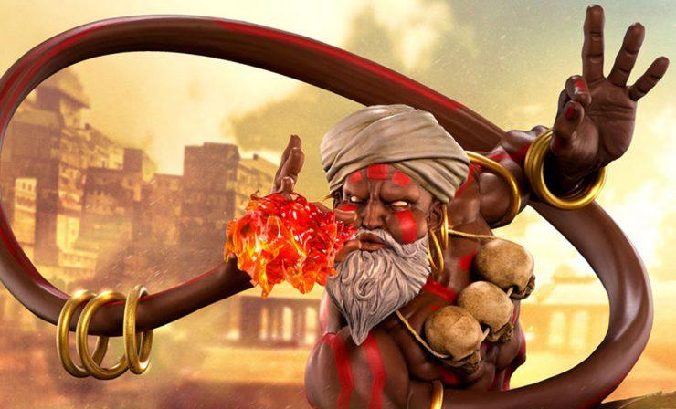 Street Fighter- Dhalsim
