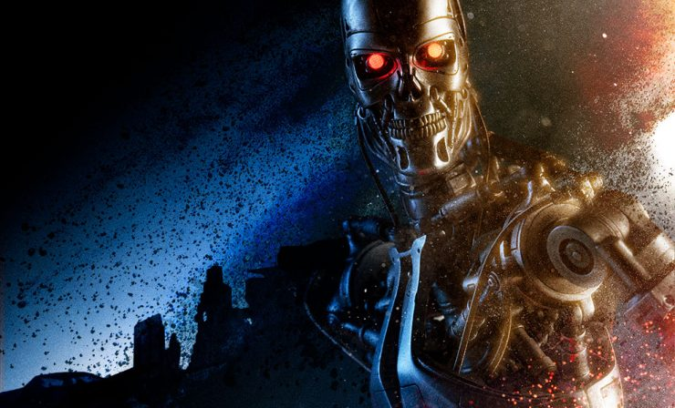 Terminator Endoskeleton T-800 Collectible Figure