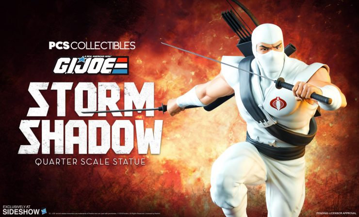 PCS Storm Shadow Statue