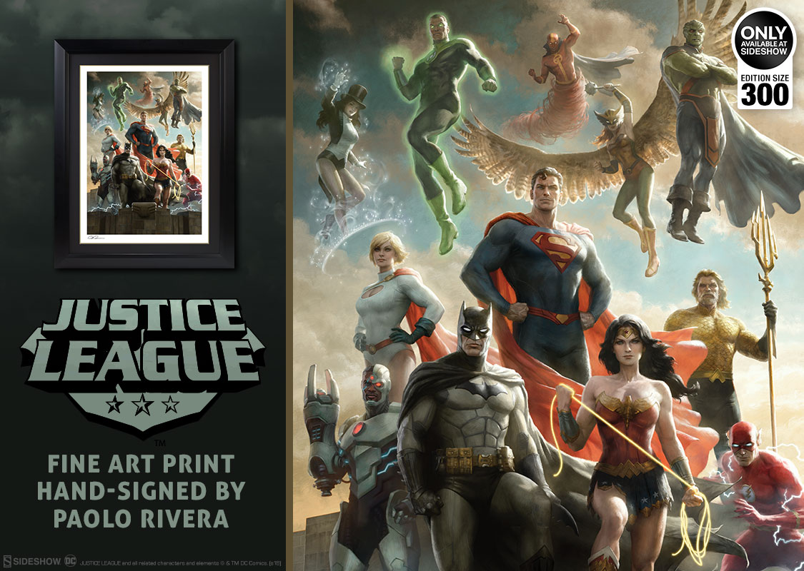 Superman Justice League Original Art Prints