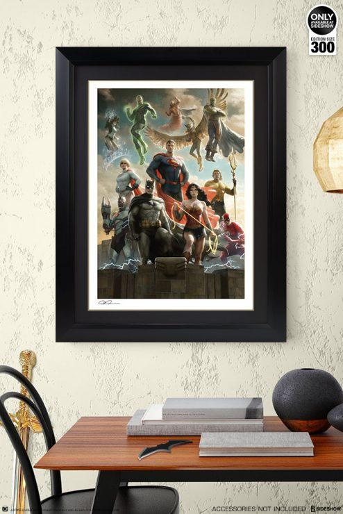 Justice League Fine Art Print by artist Paolo Rivera