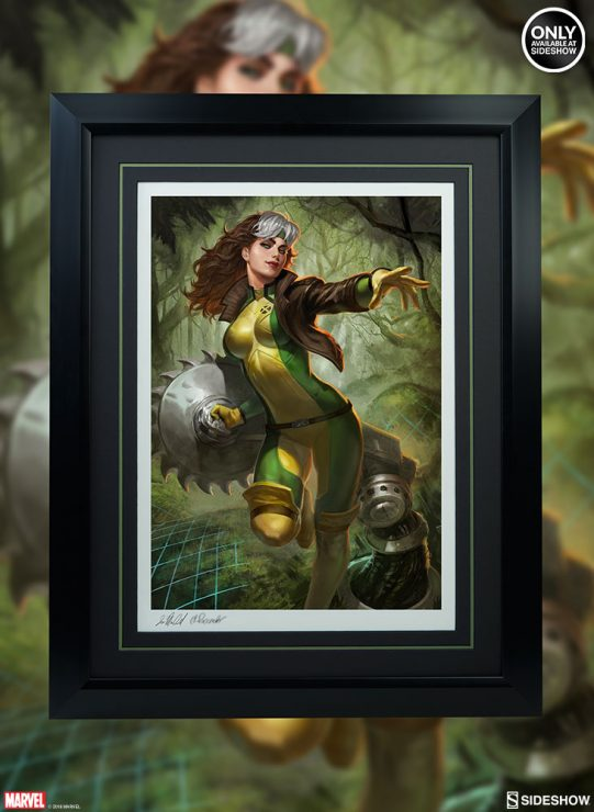 Rogue Fine Art Print- Decorate the Danger Room with a Marvel Art Collectible!