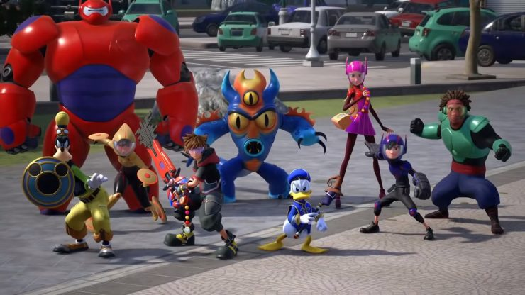Kingdom Hearts 3 Trailer Shows off Big Hero 6 Gameplay