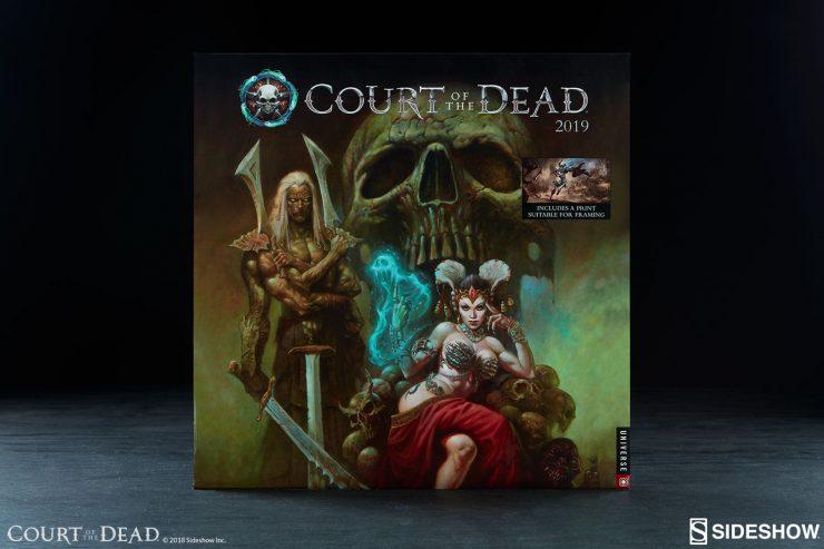 Court of the Dead 2019 Wall Calendar