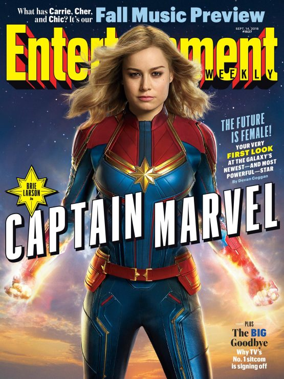 Entertainment Weekly Teases First Captain Marvel Images