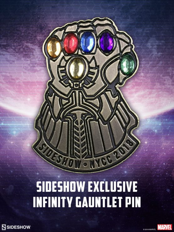 Sideshow's NYCC 2018 Exclusive Pin Quest