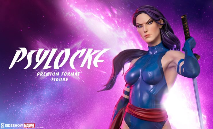 See Psylocke's New Portrait and Exclusive Psionic Weapon!
