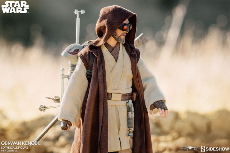 Hello there, New Photos of the Obi Wan Mythos Sixth Scale Figure have arrived!