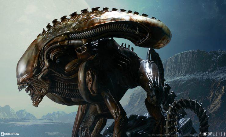 Alien Warrior – Mythos Maquette