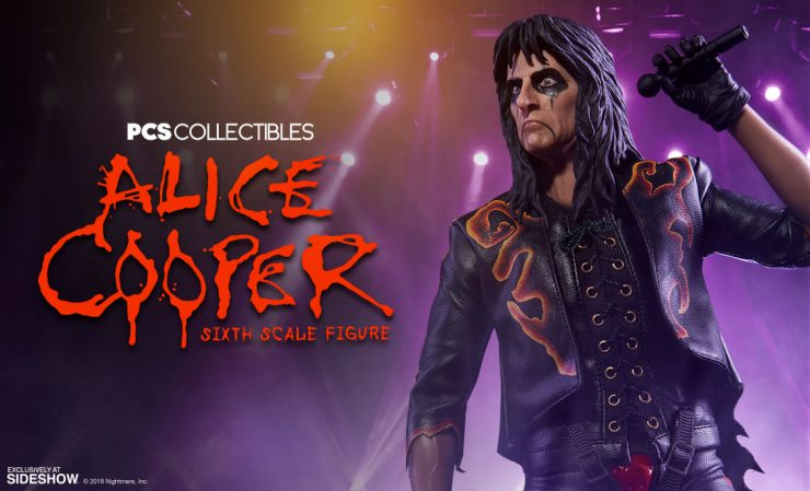 PCS Collectibles Alice Cooper Sixth Scale Figure