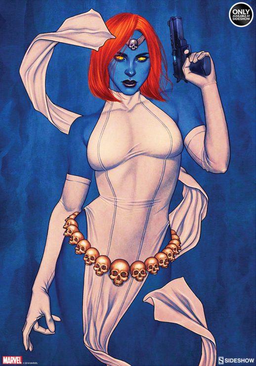 Mystique Fine Art Print by Jenny Frison