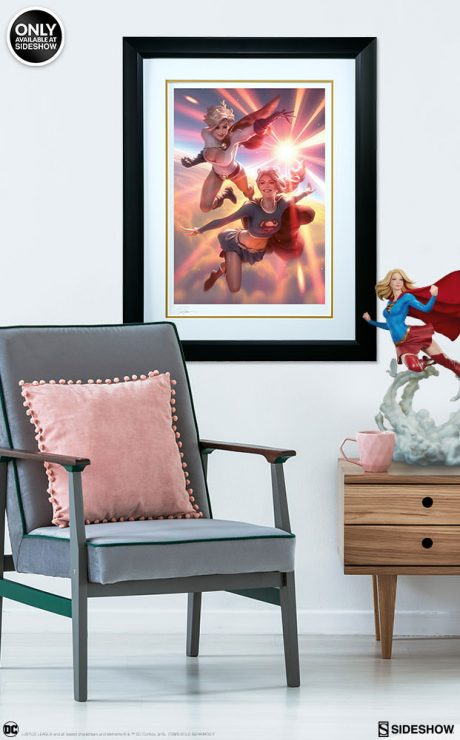 Supergirl and Power Girl Fine Art Print by artist Alex Garner