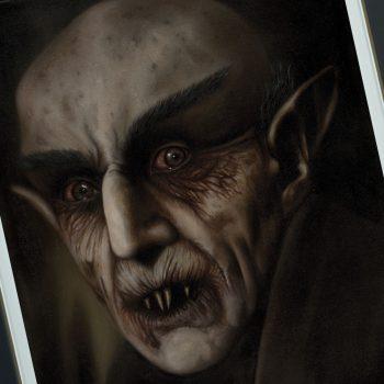 Nosferatu Fine Art Print by artist Dan Colonna