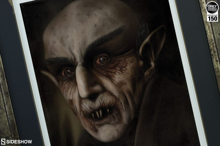 The Nosferatu Fine Art Print by Dan Colonna Brings Horror to Your Home