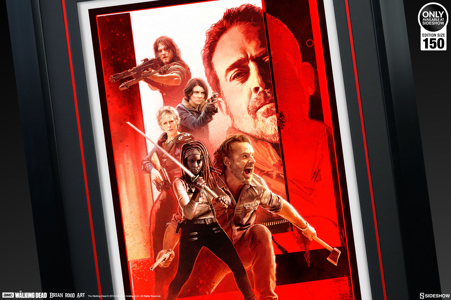 The Last Stand by Brian Rood- AMC's The Walking Dead Fine