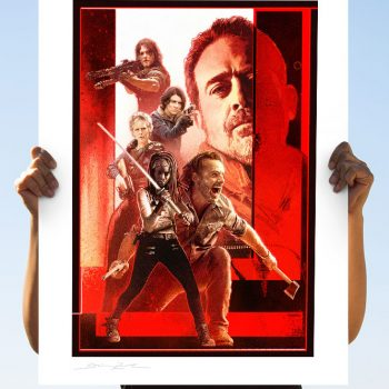 The Walking Dead: The Last Stand Fine Art Print by Brian Rood