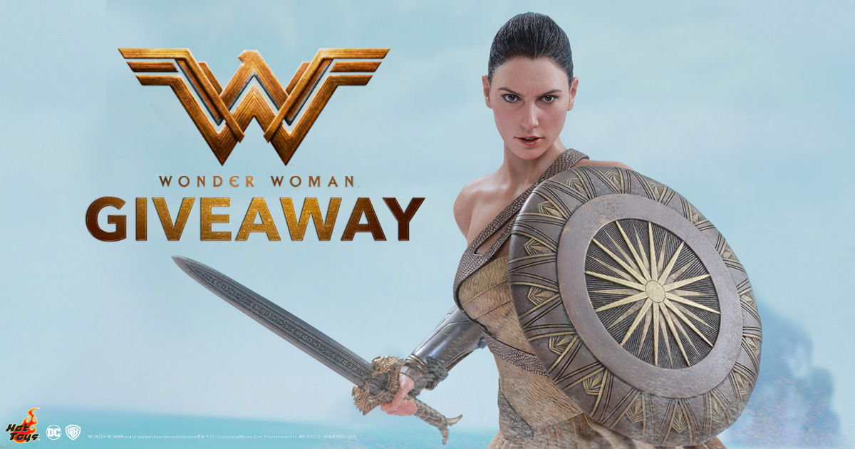 Wonder Woman Sixth Scale Figure Giveaway