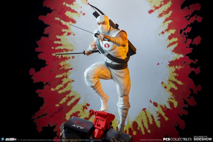 Let Cobra Command Your Collection with the Storm Shadow 1:4 Scale Statue from PCS