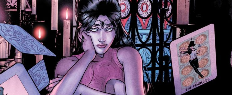 Jeryl Prescott Cast as Madame Xanadu in DC's Swamp Thing