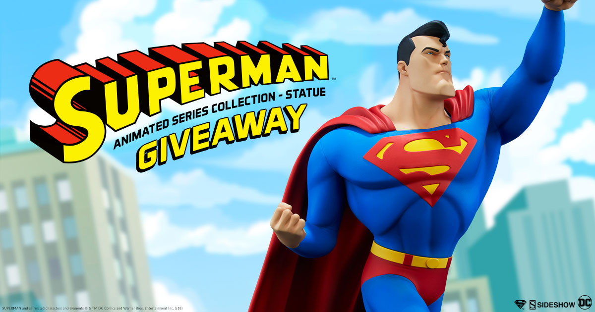 Superman Statue Giveaway