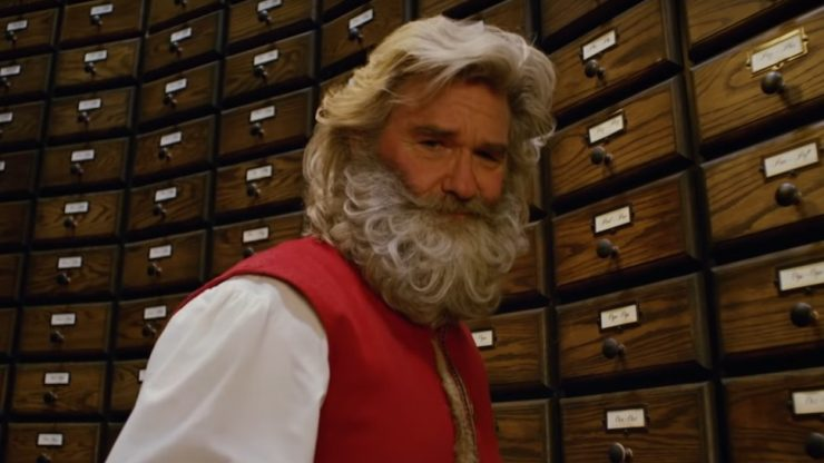 Kurt Russell is a Tough-Guy Santa in Christmas Chronicles from Netflix