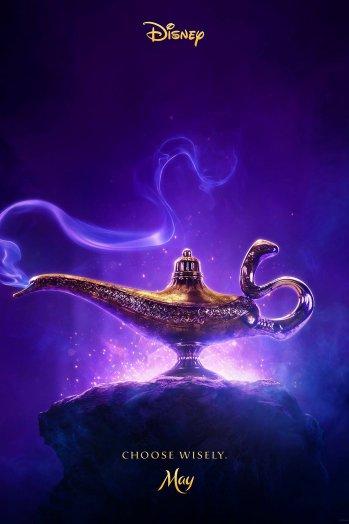 Disney Teases Aladdin Poster
