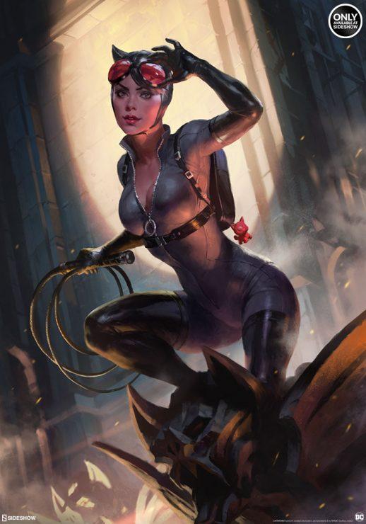 Catwoman Fine Art Print by Heonhwa Choe