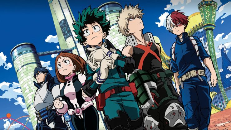 My Hero Academia Movie in Development at Legendary Pictures