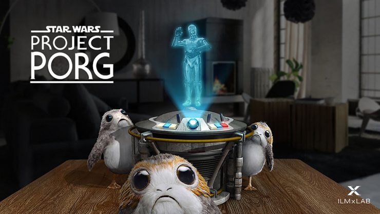 Lucasfilm Introduces Augmented Reality Porg Game