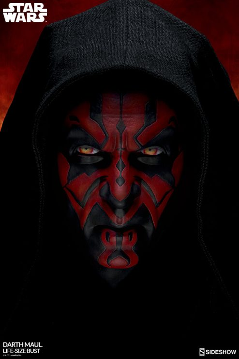 Darth Maul Life-Size Bust- A Sith Star Wars Collectible Like No Other