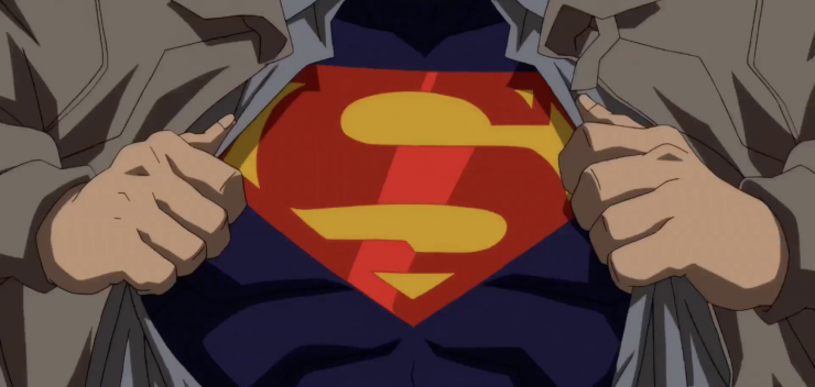 New Reign of the Supermen Animated Film Trailer