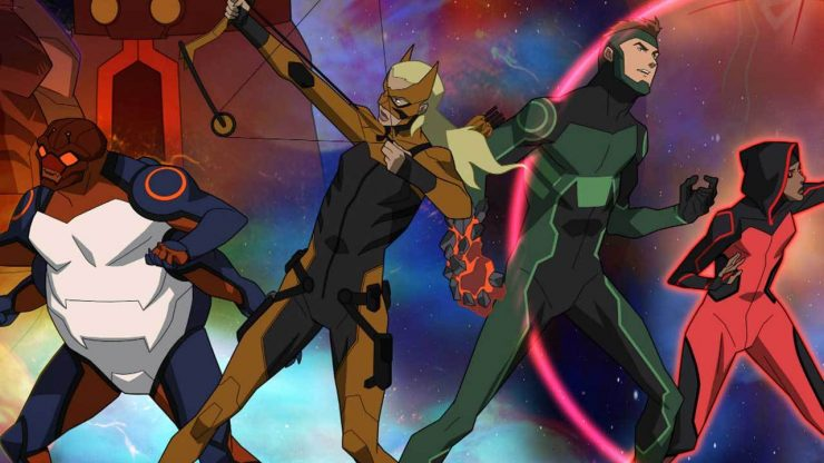 Young Justice: Outsiders Gets DC Universe Premiere Date