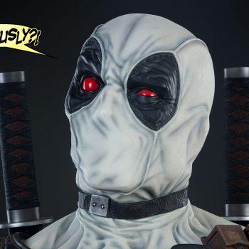 Deadpool X-Force Variant Life-Size Bust