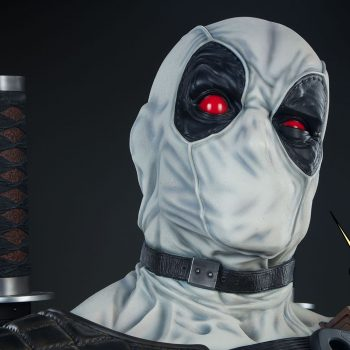 Deadpool X-Force Variant Life-Size Bust