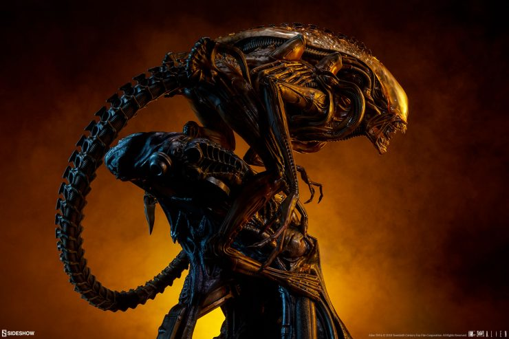 The Alien Warrior- Mythos Maquette is a New Evolution of Xenomorph Terror
